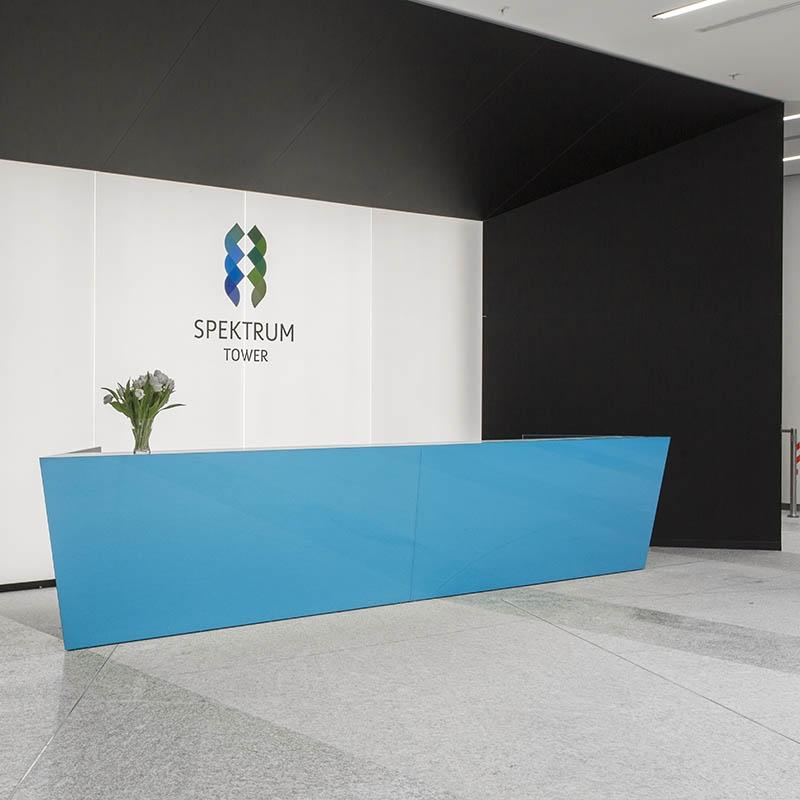 Recepcja budynku - Wirtualne Biuro